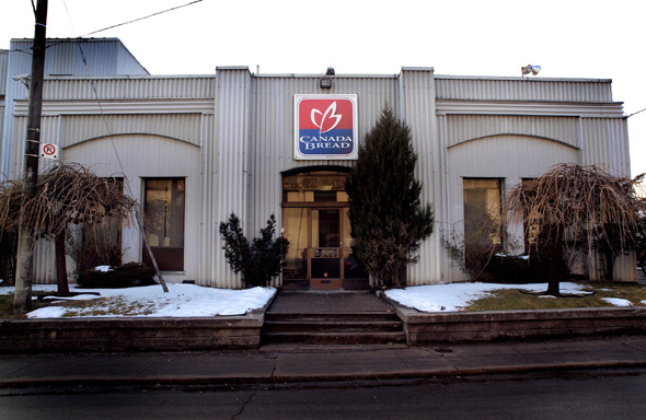 Head office at Canada Bread on Fraser