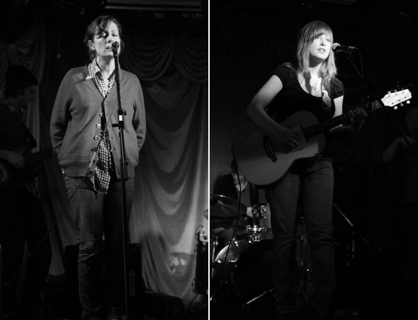 Julie Fader, Live, El Mocambo, Toronto, January 2009