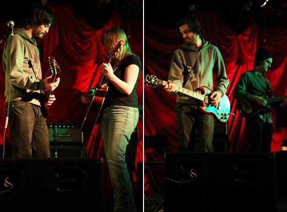 Julie Fader, Graham Walsh, Live, El Mocambo, Toronto, January 2009