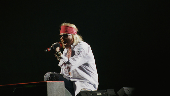 Axl Rose with Guns N' Roses at Air Canada Centre in Toronto