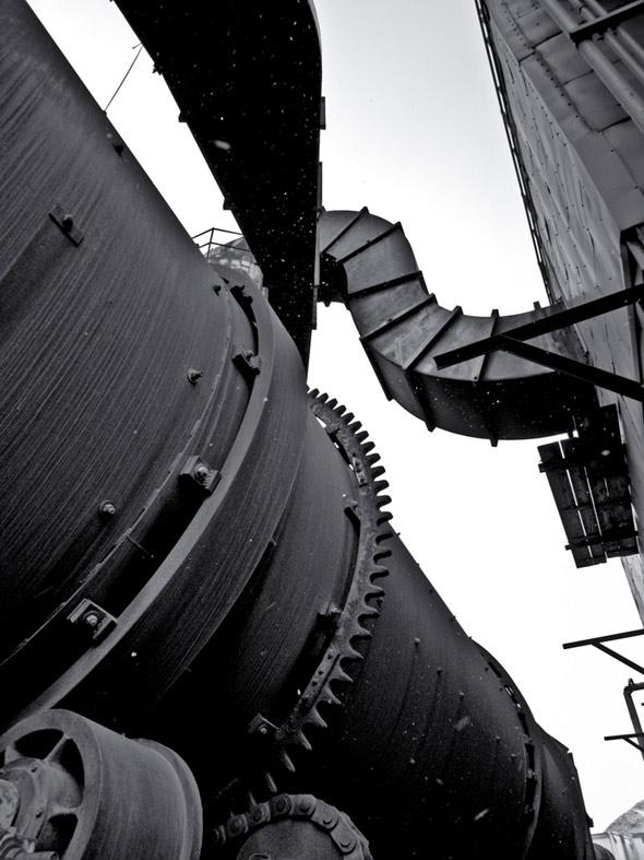 abandoned grain elevator