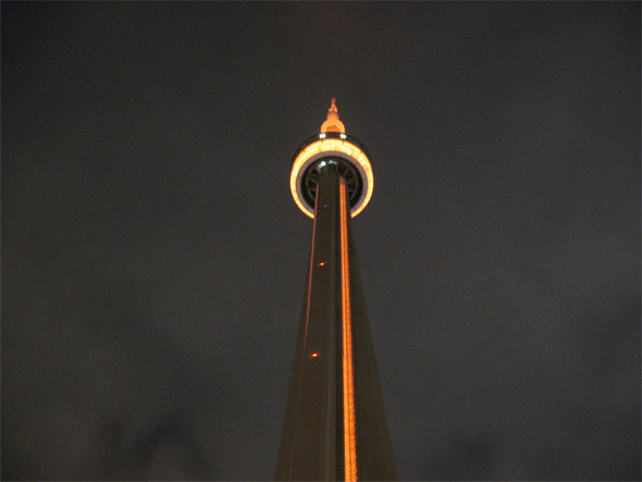 cn tower gold