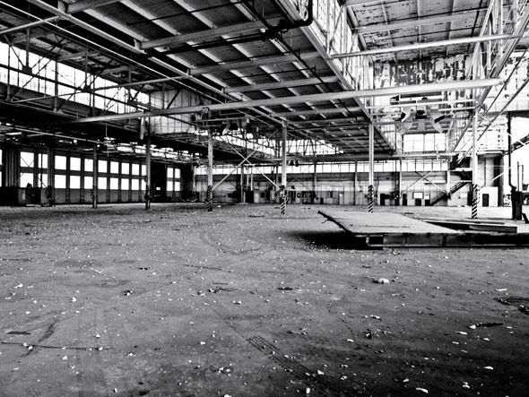 Downsview hangars
