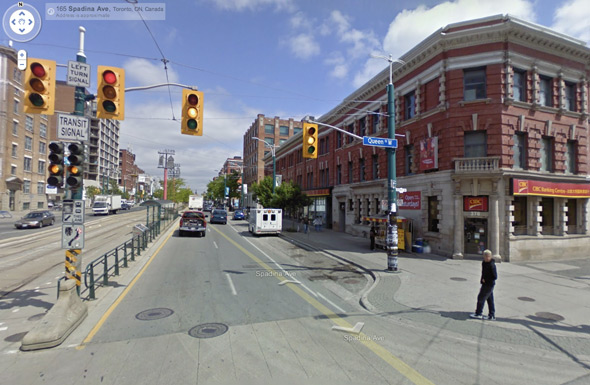 Spadina and Queen Toronto