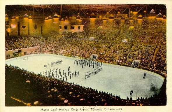 Maple Leaf Gardens 1931