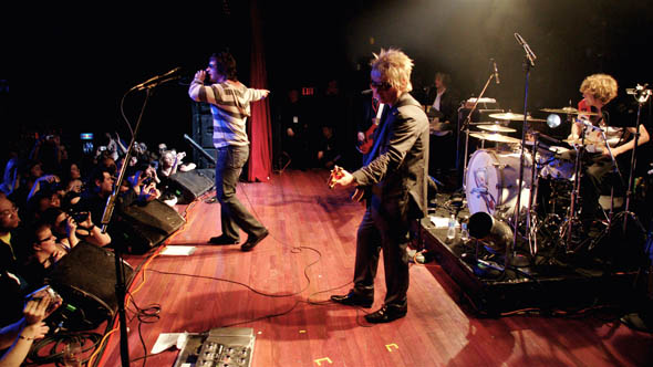 Platinum Blonde reunion at The Mod Club during Canadian Music Week