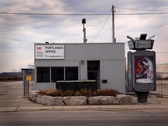 Port Lands office
