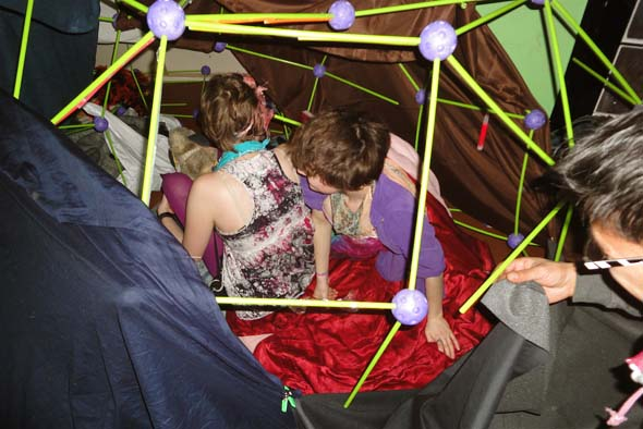 Blanket Fort Newmindspace slumber party
