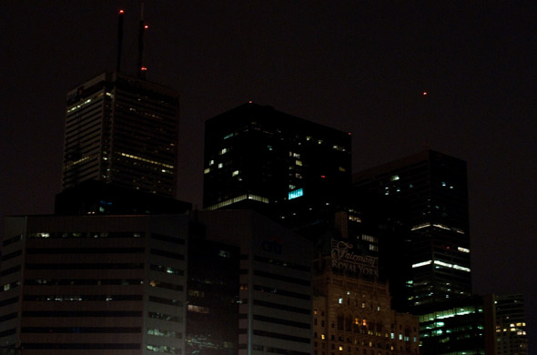 Earth Hour Toronto 2010