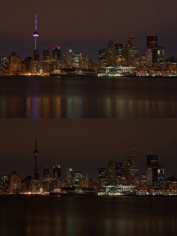 Earth Hour Toronto 2010