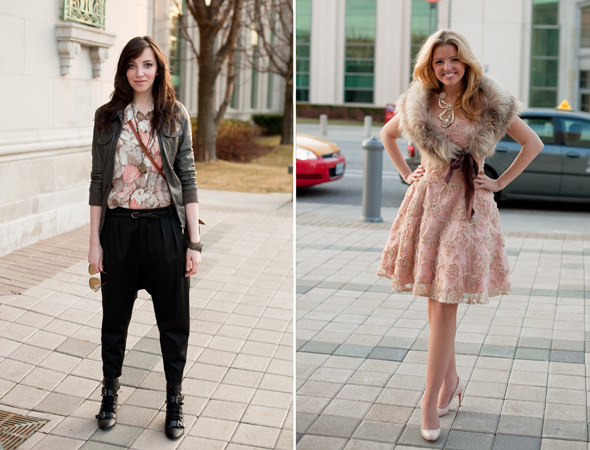 Toronto Street Style LG Fashion Week