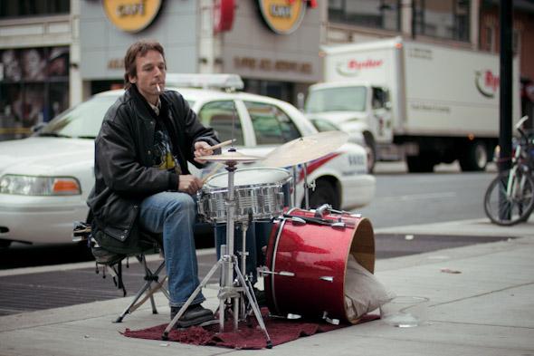 Toronto Street Busker Peter Richards 2