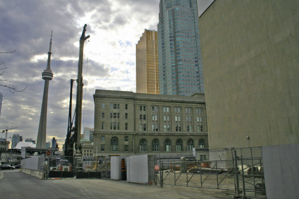l tower construction