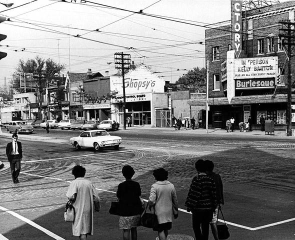 Toronto, history, heritage, Victory Burlesque Theatre
