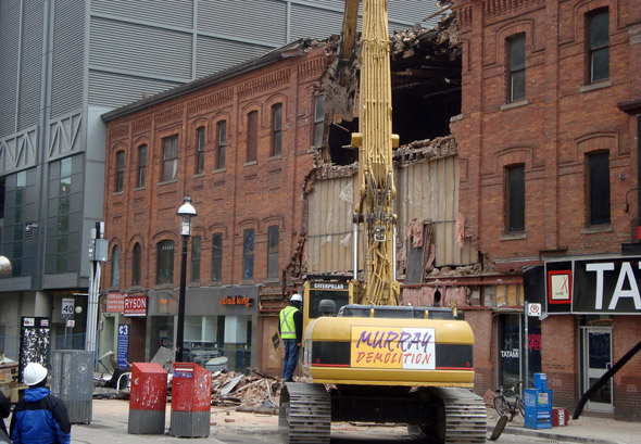 Gould Street Wall Collapse