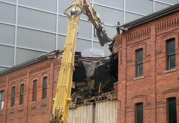 Gould Street Demolition