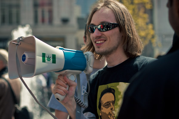Toronto Hash Mob 420 Flash Mob Organizer Matt Mernagh