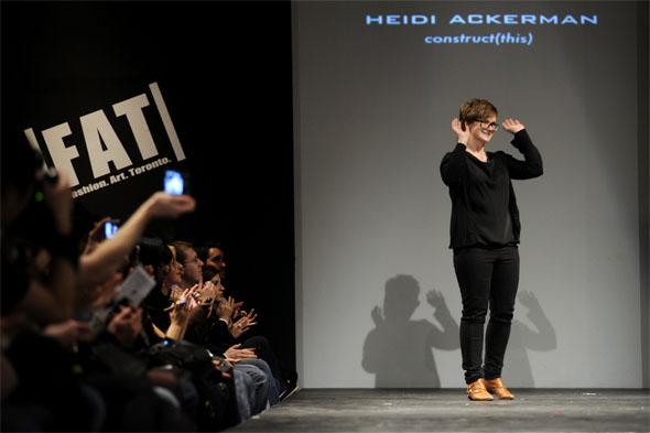Heidi Ackerman at FAT