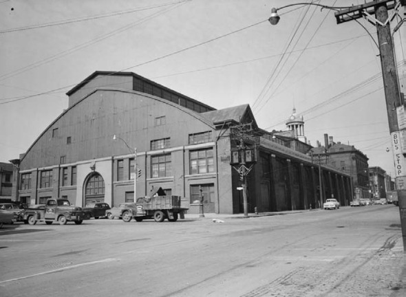 Pre-demolition Image of St Lawrence Market North