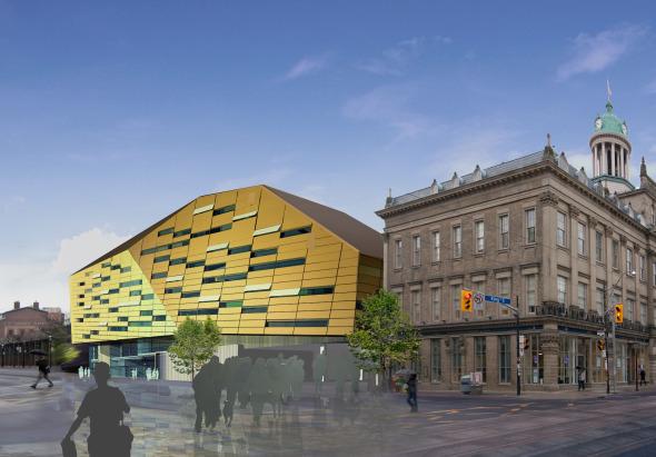 St Lawrence Market Redesign Blue Concept Exterior