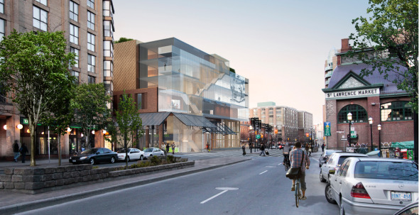 St Lawrence Market Redesign Yellow Concept Exterior