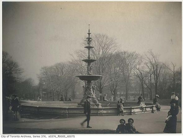 Allan Gardens Fountain