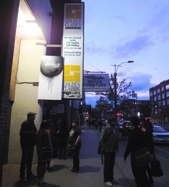Toronto Underground Cinema