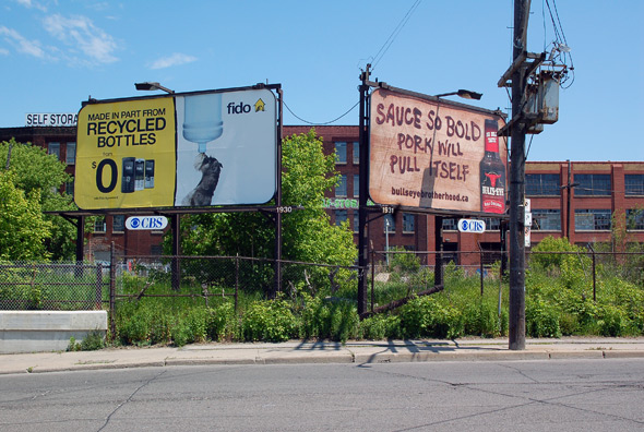 toronto billboard