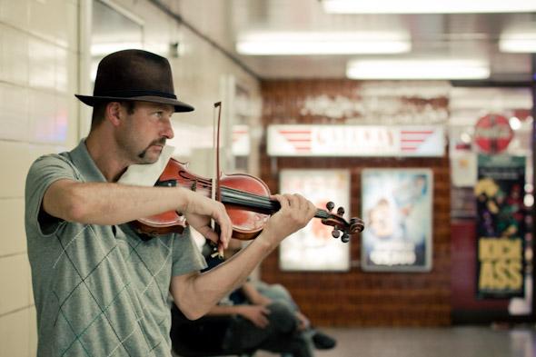 TTC Busker Ruslan Nebesov Yonge-Bloor Subway Musician