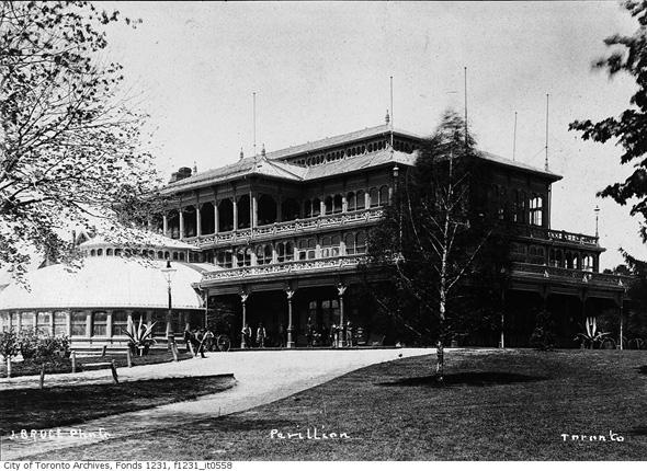 Old Pavillion Allan Gardens