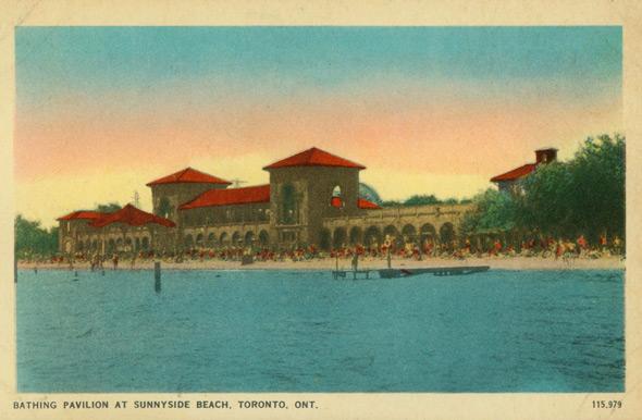 sunnyside beach pavilion toronto