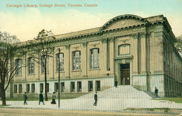 Carnegie library toronto