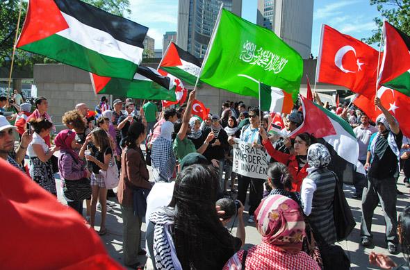 Israel Protest Toronto