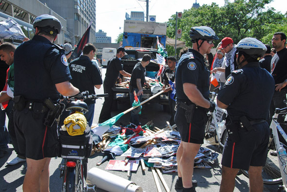 Toronto Israel Protest