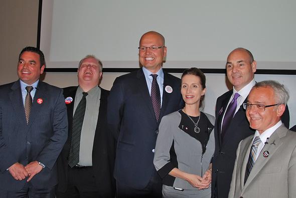 2010 Toronto Mayoral Candidates