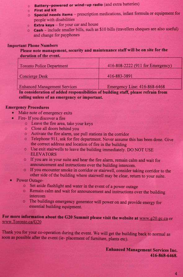 G20 Resident Information Guide