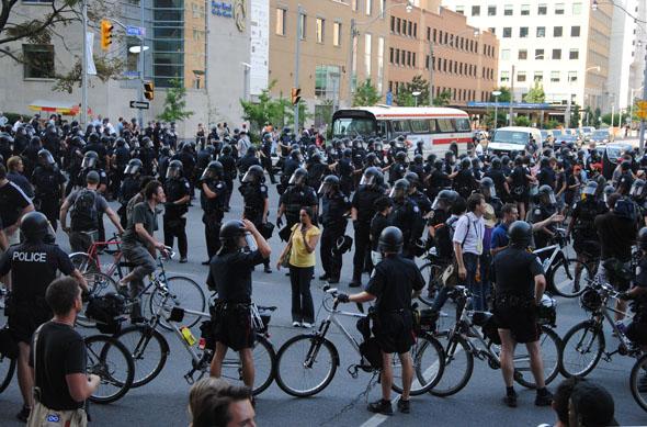 G20 Riot Toronto