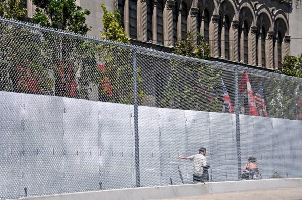 G20 Toronto Fence