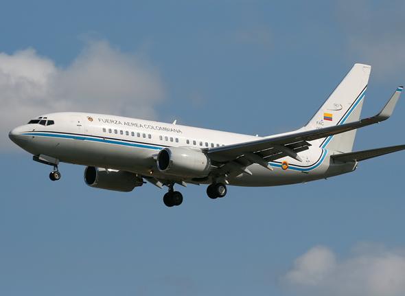 Columbian National Plane