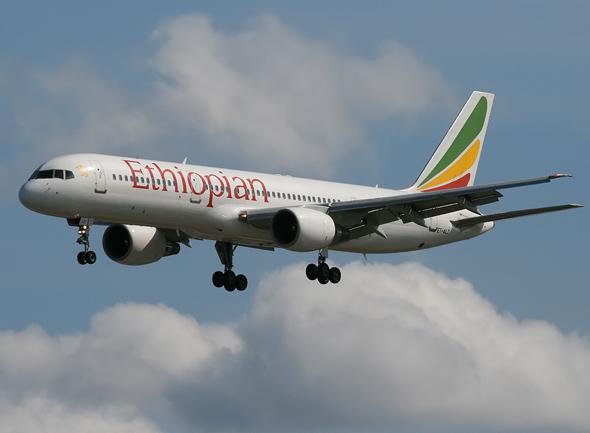 Ethiopian National Plane