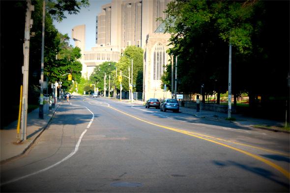 empty streets g20 toronto