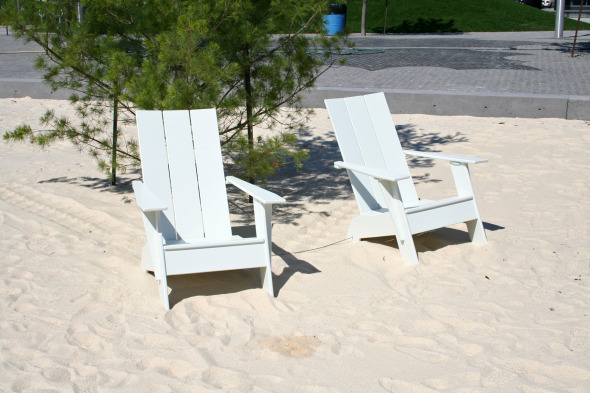 Muskoka Chairs in Sugar Beach