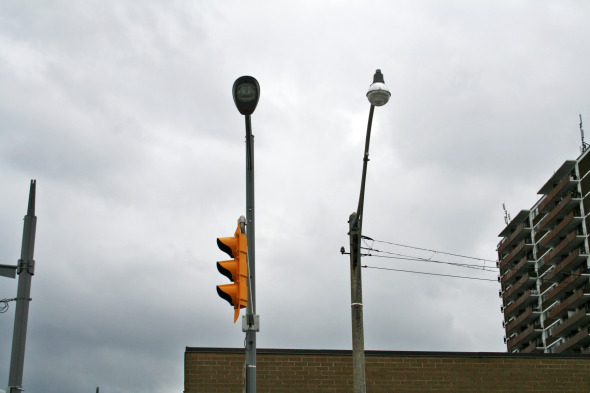 St Clair Two Lights Next to each other