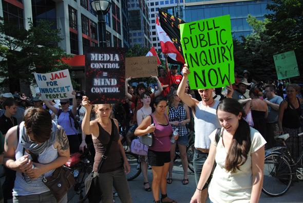 CAP protest