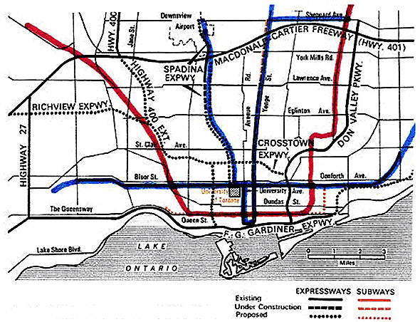 toronto highways
