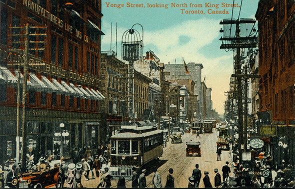 Vintage Postcard Toronto