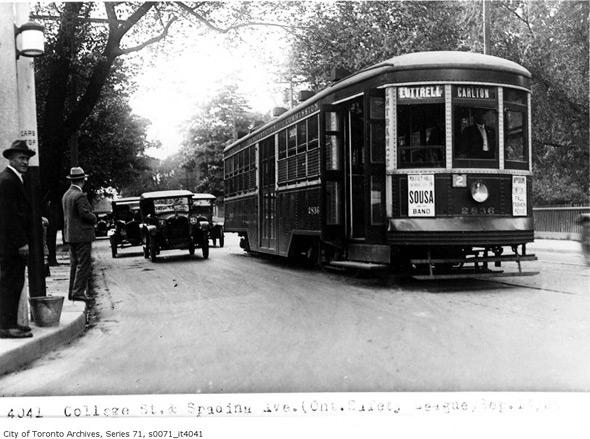 ttc peter witt streetcar