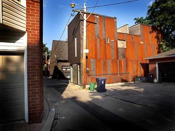 Shaftesbury Ave. laneway house