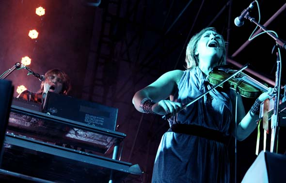 Arcade Fire Toronto Island Concert