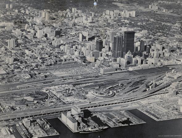 toronto skyline 1967